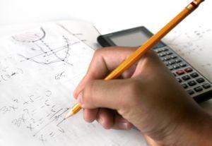 Hochzahlen bzw. Exponenten richtig eingeben.